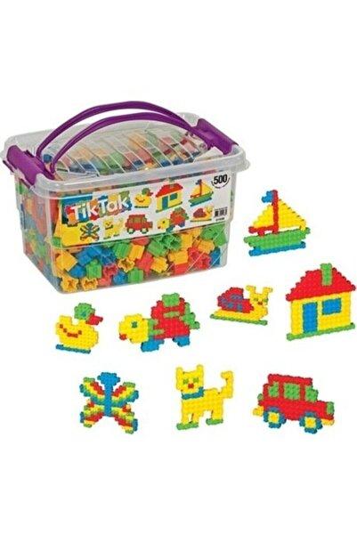 Dede Oyuncak 500 Parça Tik Tak Lego Çıtçıt Lego Seti