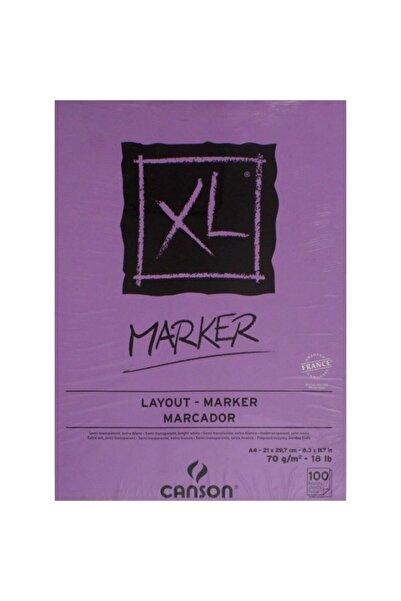 Canson Xl Marker A4 100 Sayfa Eskiz Defteri 400104126 - 200297236