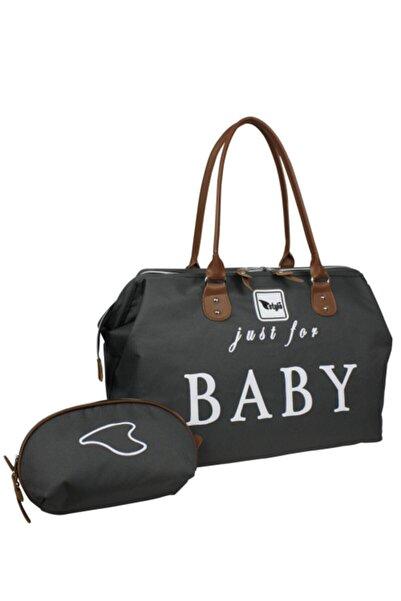 Stylo Just For Baby Anne Bebek Bakım Ve Kadın Çantası-gri