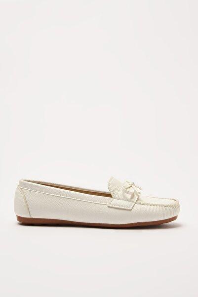 Yaya by Hotiç Beyaz  Loafer Ayakkabı 01AYY212310A900