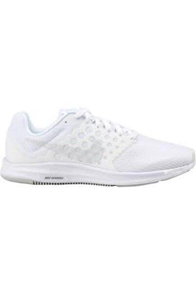 Nike Kadın Beyaz Downshifter 7 Spor Ayakkabı 852466 100
