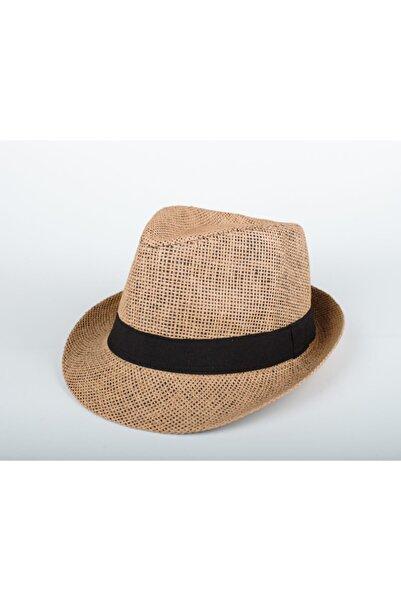 Cosswell Erkek Kahverengi Hasır Fötr Şapka