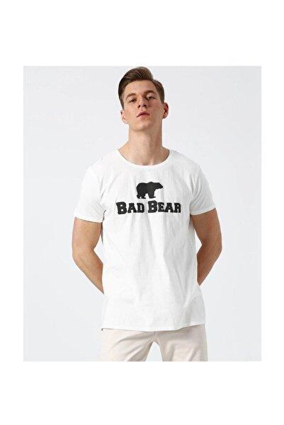 Bad Bear Tee Os Beyaz Kısa Kollu Tişört
