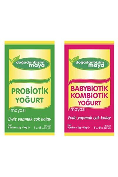 Doğadan Bizim Probiotik Yoğurt Mayası ve Babybiotik Kombiotik Yoğurt Mayası