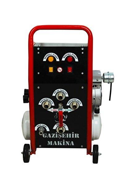 Gazişehir Makina Petek Temizleme Makinası Kompresörlü-air Class -çift Yönlü