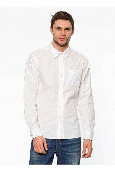 Levi's Erkek Beyaz Gömlek 65824-0336