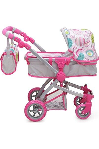 Nano Oyuncak Bebek Arabası Pink Rose