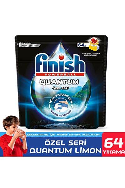 Finish Quantum Özel Seri 64 Limon Bulaşık Makinesi Deterjanı Tableti