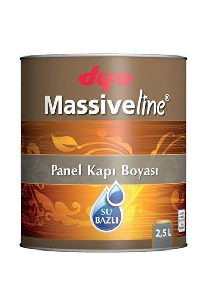 Dyo Massiveline Su Bazlı Panel Kapı Boyası Beyaz 2.5 Lt
