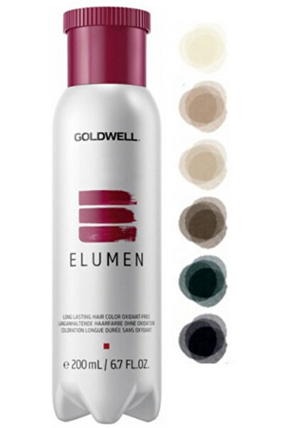 GOLDWELL Amonyaksız Gri Saç Boyası 200 ml