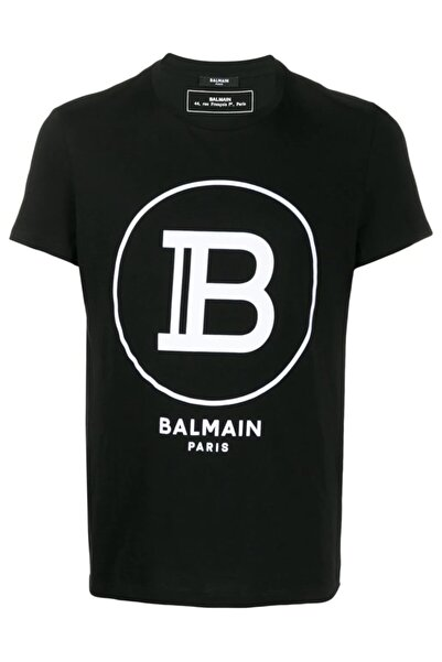 BALMAIN Unisex Logo Print T-shirt
