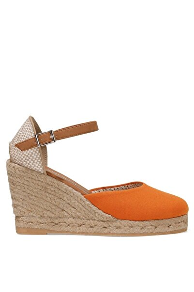 Nine West ARTEMISIA 1FX Turuncu Kadın Dolgu Topuklu Sandalet 101029961