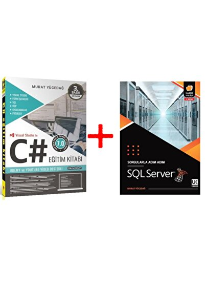 Madamcarlotta Sql Server Sorgularla Adım Adım Ve C# Eğitim Kitabı 3 Adet Kupon Murat Yücedağ