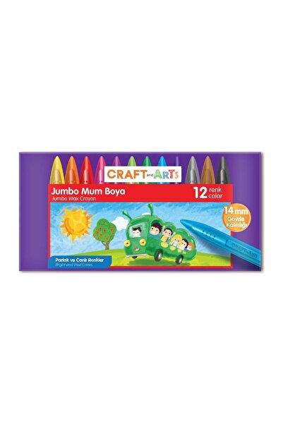 Craft and Arts 12 Renk Jumbo Mum Boya /