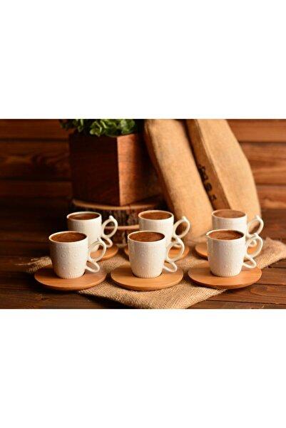 Bambum Kısmet 6 Kişilik Kahve Fincan Takımı