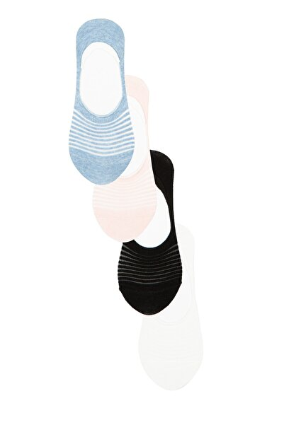 Penti Çok Renkli Invısıble 4Lü Babet Çorap