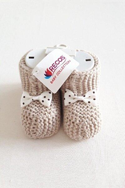 Recos Bebek Patiği Örgü 0-6 Ay