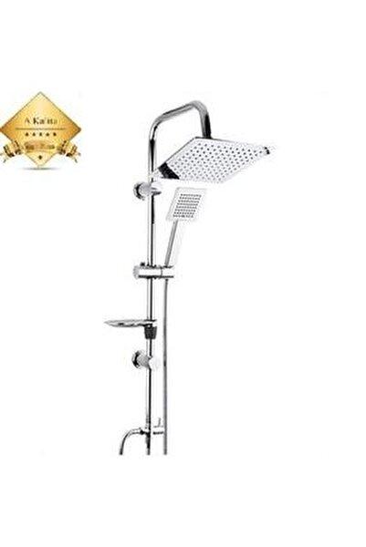 Duş Seti Kalista, Çiftli Yağmurlama Robot Duş Sistemi , Krom Duş Seti Takımı