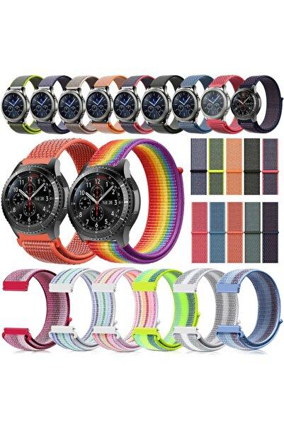 Techmaster Samsung Gear Watch 3 41mm Active 2 40 44mm Loop Örgü Spor Tme Kordon