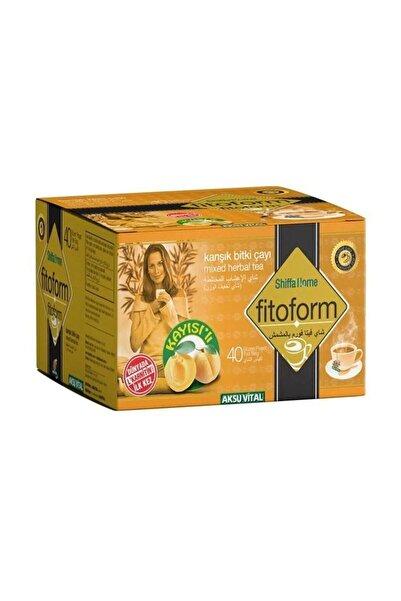Shiffa Home Kayısılı Fitoform Çayı 40'lı  Süzen