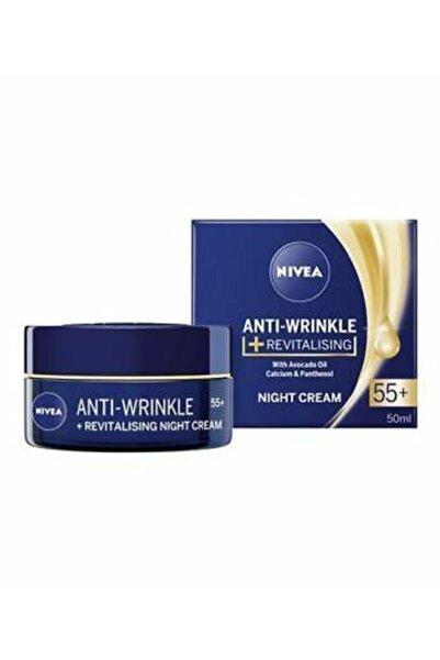 Nivea Kırışıklık Karşıtı + Sıkılaştırıcı 50 Yaş Üstü Gece Kremi 50ml