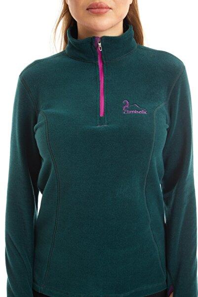 Climbolic Kadın Yeşil Polar Sweatshirt