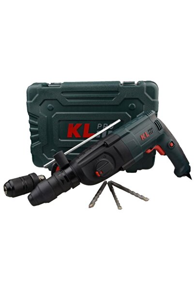 KLPRO Klpm2603 850watt 3,2j Profesyonel Sds-plus Çift Mandren Kırıcı/delici