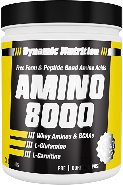 Dynamic Nutrition Dynamic Amino 8000 300 Tablet
