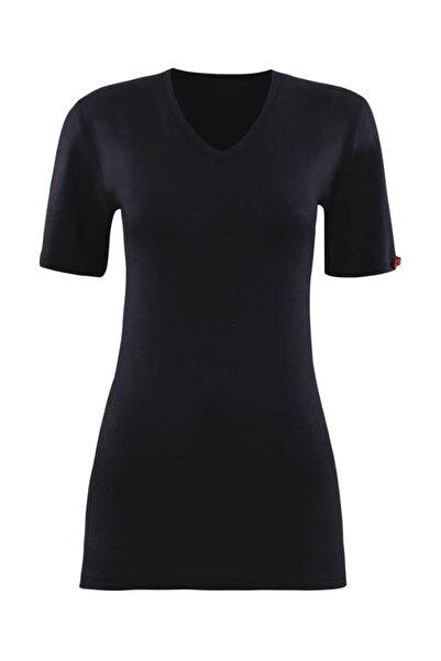 Blackspade Kadın Siyah 2. Seviye Termal  T-Shirt 1263