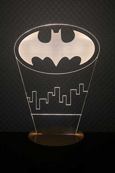 BY-LAMP 3 Boyutlu Batman Yeni Lamba