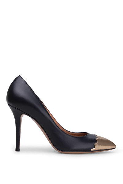 Emporio Armani Kadın Siyah Topuklu Ayakkabı X3E334 Xl531 D022