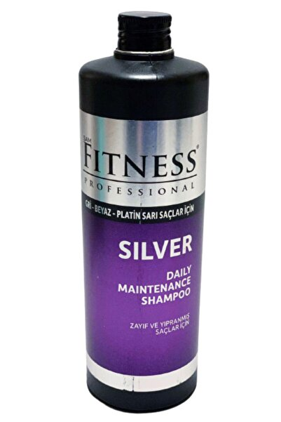 Fitness Professional Silver Mor Şampuan 750 Ml