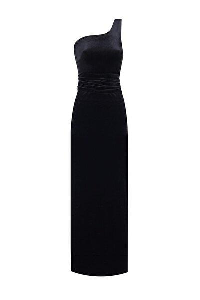 Nunu's Closet by Nur Karaata Kadın Siyah Elbise Ncn1
