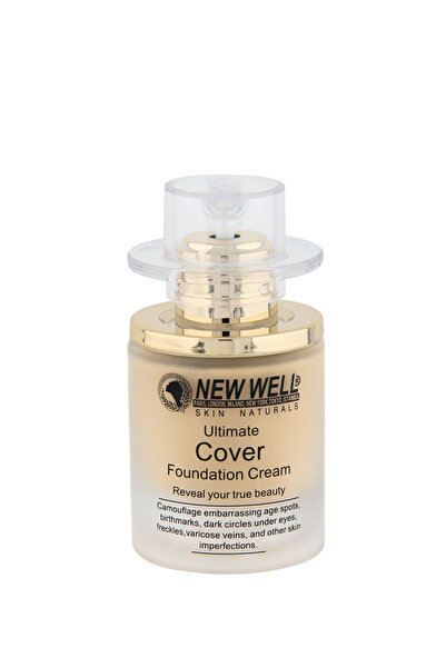 New Well Cover Şişe Fondöten 03 30 ml