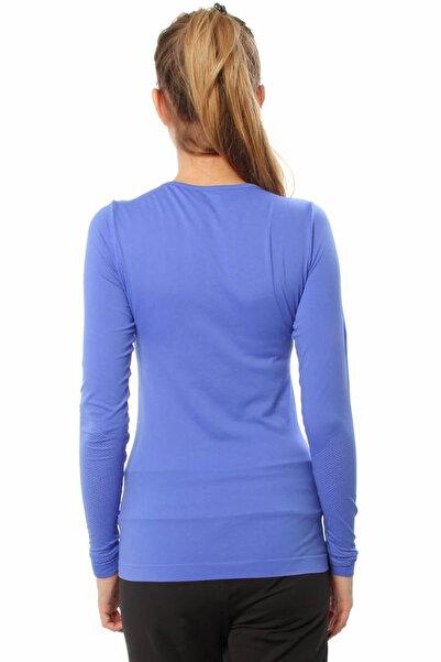 Sportive Kadın Bluz - 210438-00L/MAVI
