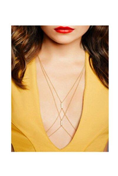 Fashion Jewellery Incili Vücut Zinciri