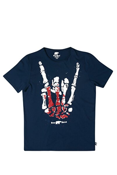 Bad Bear ROCK n SKULL NAVY