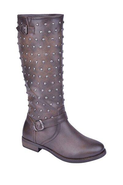 Polaris 305871 Z Kahverengi Kadın Çizme 100165011