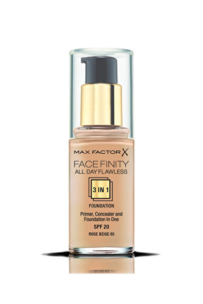 Max Factor Fondöten - FaceFinity All Day Flawless Foundation 065 Rose Beige 30 ml 5410076971633