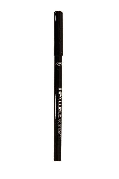 L'Oreal Paris Siyah Eyeliner - Infaillible Gel Crayon Eyeliner 01 Black 3600523351497
