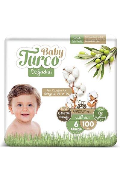 Baby Turco Doğadan 6 Numara Xlarge 100 Adet