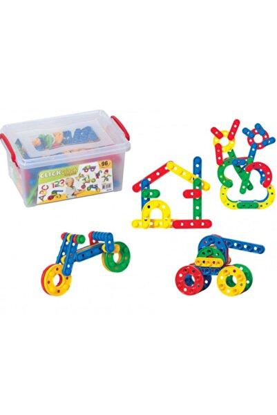 DEDE Click Clack Puzzle Küçük Boy 96 Parça