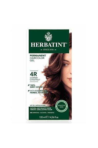 Herbatint Kalıcı Bitkisel Saç Bakım Boyası - Copper Chestnut 4R Bakır Kahverengi 150 ml 8016744500197