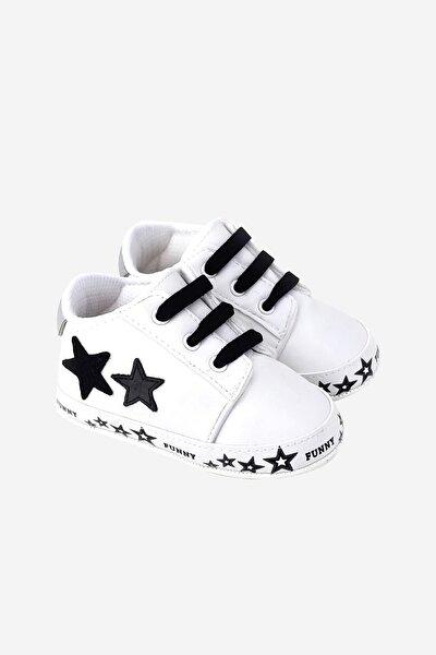 Funny Baby Yıldızlı Bagcıklı Spor Ayakkabı