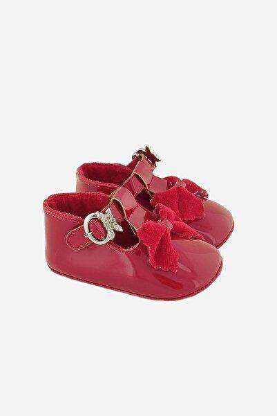 Funny Baby Fıyonklu Rugan Bebek Ayakkabısı