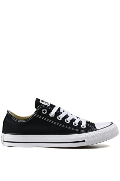 converse Chuck Taylor All Star Unisex Kısa Siyah Sneaker (M9166c)