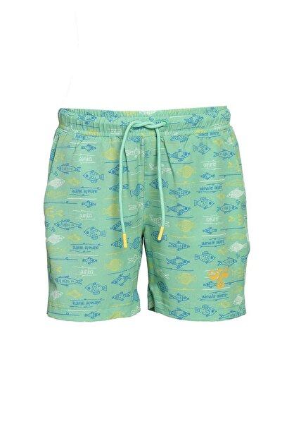 HUMMEL Çocuk Yeşil Sailor Deniz Şortu 950046-6320