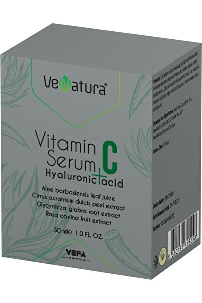 VeNatura Vitamin C + Hyaluronic Acid Serum