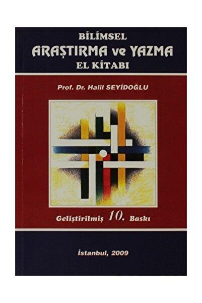 Güzem Can Yayınları Bilimsel Araştırma ve Yazma El Kitabı
