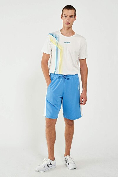 HUMMEL Erkek Mavi Spor Şort